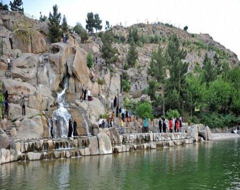 حضور دانش آموزان برتر درسی مهرماه در پارک کوهسنگی