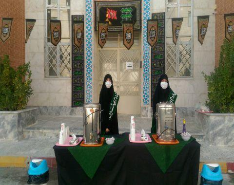 برگزاری مراسم اربعین حسینی توسط  دانش آموزان هیئت اخلاص (مدارس امام حسین علیه السلام)