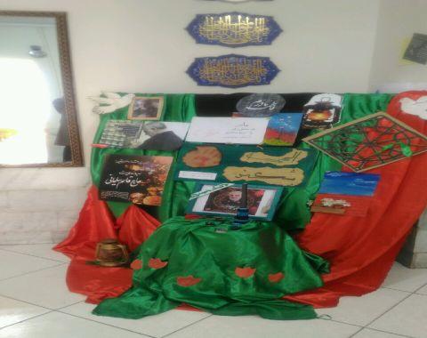 برپایی جایگاه شهادت حضرت زهرا (سلام الله علیها)